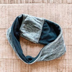 Lululemon headband grey/black
